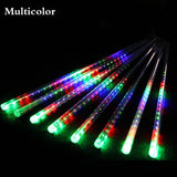Falling Rain Drop Christmas Lights (8 Tubes)