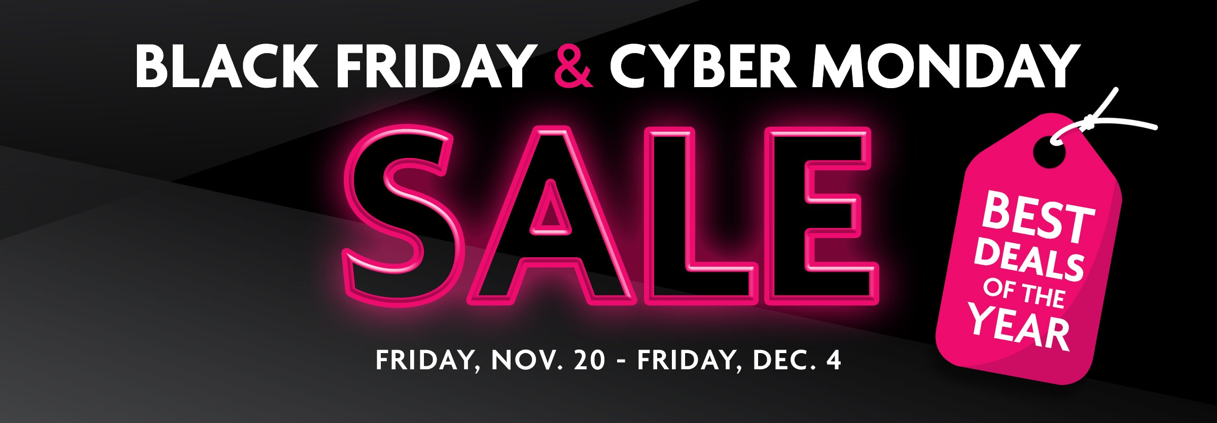 up to 30% off for black friday and cyber monday