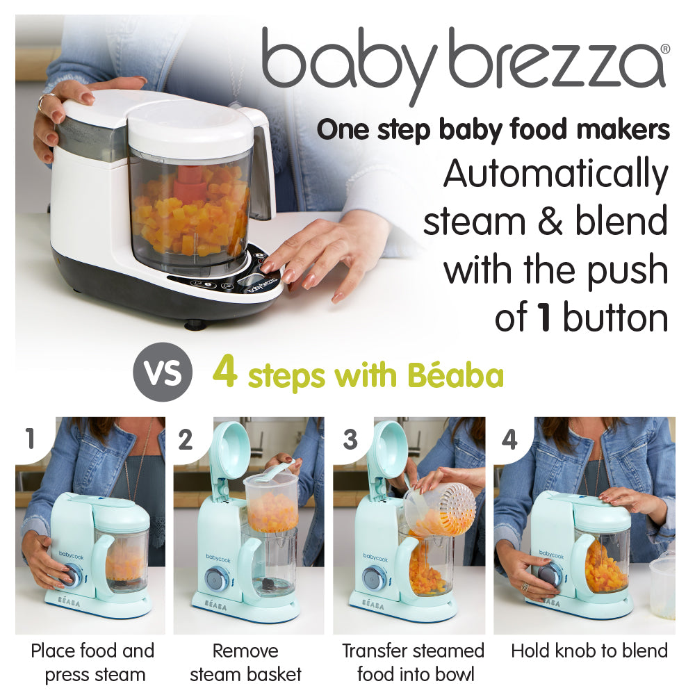 Baby Food Blender Make Homemade Baby Food In Minutes