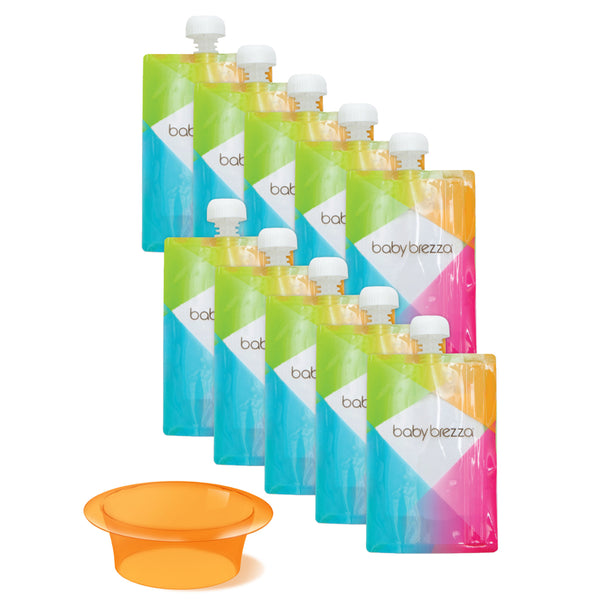 Refillable Pouch For Baby Food Easy Fill System Baby