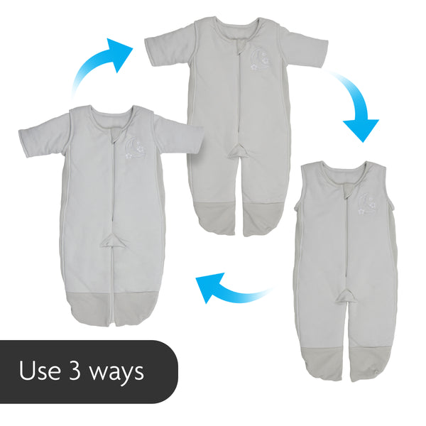 3 in 1 Swaddle Transition Sleepsuit