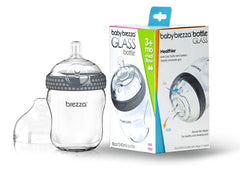 Glass Baby Bottles | Baby Brezza Glass Bottle 8 oz, 1 pack