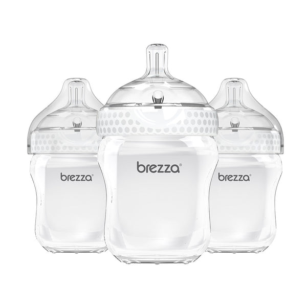 Baby Bottles 9oz Baby Bottle 3 Pack Baby Brezza