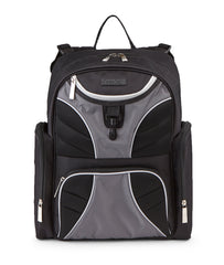Jeep Adventurers Diaper Backpack - Black & Grey