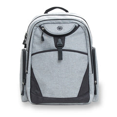 Diaper Bag | Jeep Adventurers Diaper Backpack- Grey Crosshatch