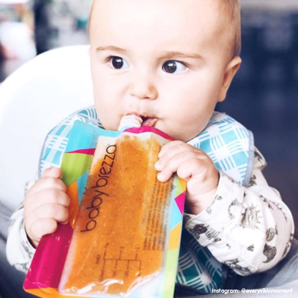 Baby Food Pouches | Reusable Easy-Fill Food Pouches - 10 Pack - product thumbnail