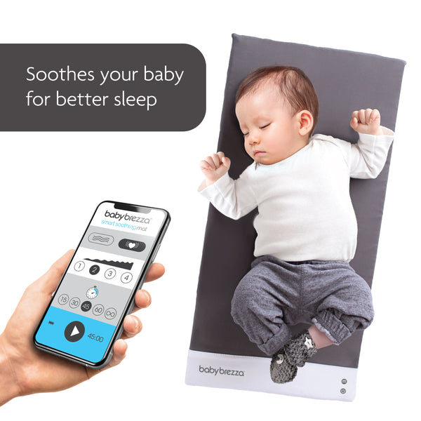 Smart Vibrating Baby Soothing Mat from Baby Brezza