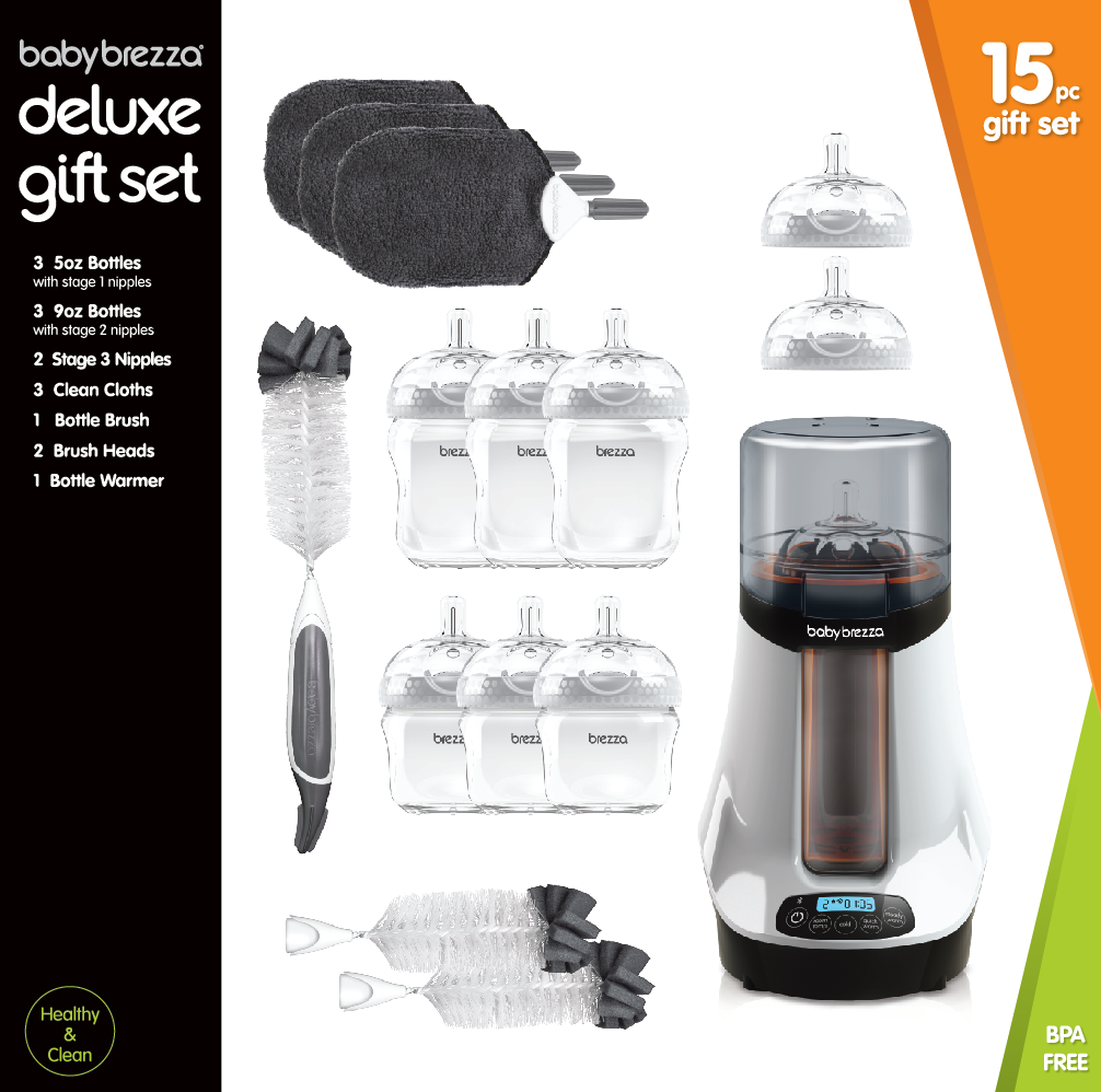 Deluxe Gift Set 15 pc  with Bottle Warmer