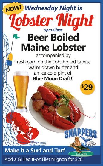 Wednesday is Lobster Night
