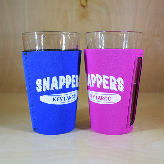 Snappers Glass Koozies (8-Pack)