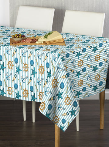 At Sea Stripe Rectangle Tablecloths