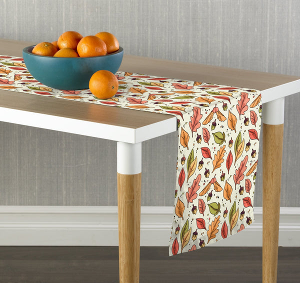 Cartoon Leaves II Table Runners