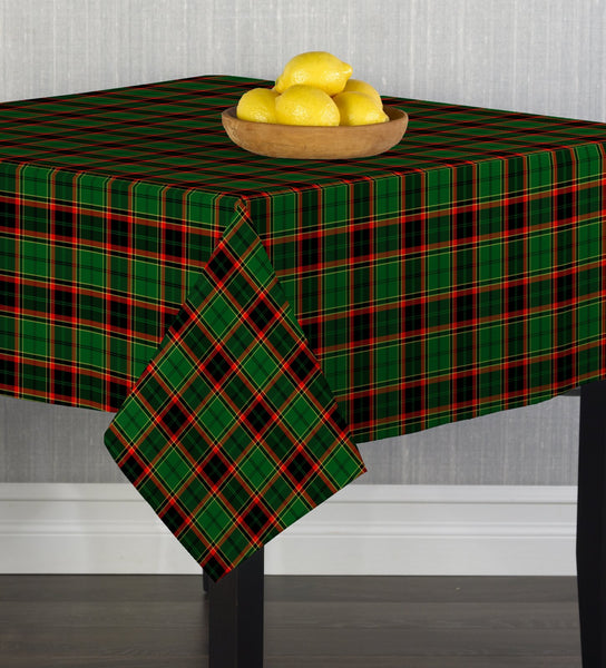 Christmas Plaid Square Tablecloths