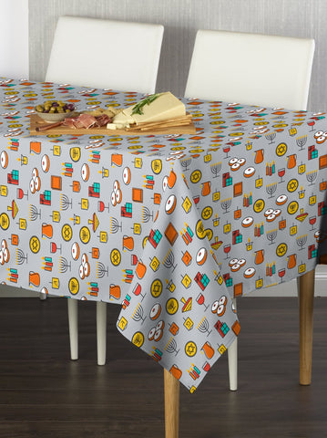 Hanukkah Essentials Rectangle Tablecloths