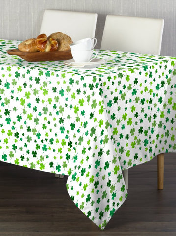 Simple Clovers Rectangle Tablecloths
