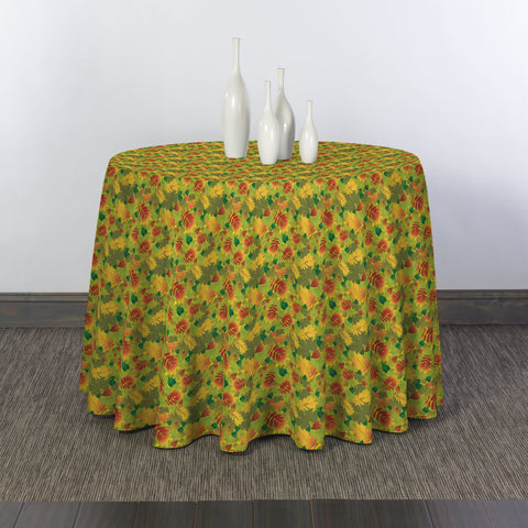 That Time of Year Round Tablecloths