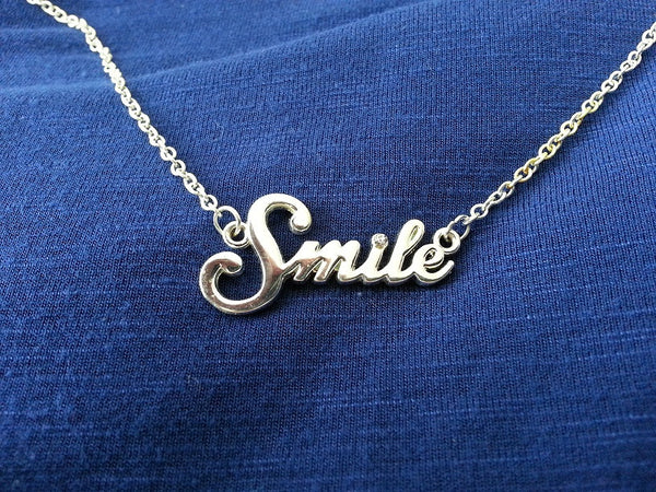 S.M.I.L.E. Necklace - Spiritually Minded is Life Eternal