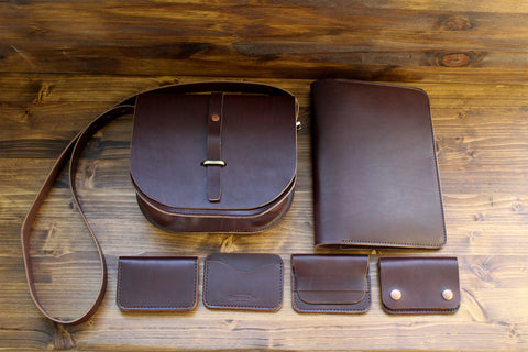 Steurer & Co. Handmade Leather Satchels, Leather Journal Covers and Leather Wallets, Louisville, KY