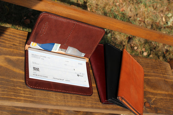 Boone Passport Check Book Wallet