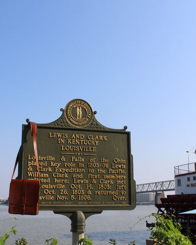 Lewis and Clark Expedition, Louisville, Kentucky, Ohio River