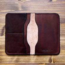 Load image into Gallery viewer, Steurer & Co. Passport Wallet & Field Notes Cover, Wallet, Journal Cover, Passport Wallet, Handmade Leather Bags and Accessories