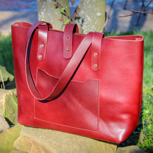 Load image into Gallery viewer, Monroe Tote - Cardinal