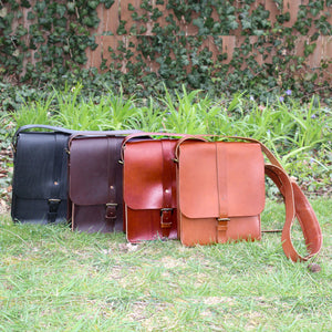 Steurer & Co. Clark Map Bag Collection, Steurer, SteurerJacoby, Vintage Leather Golfbag, Satchel, Handmade Leather Bags, Leather Satchel