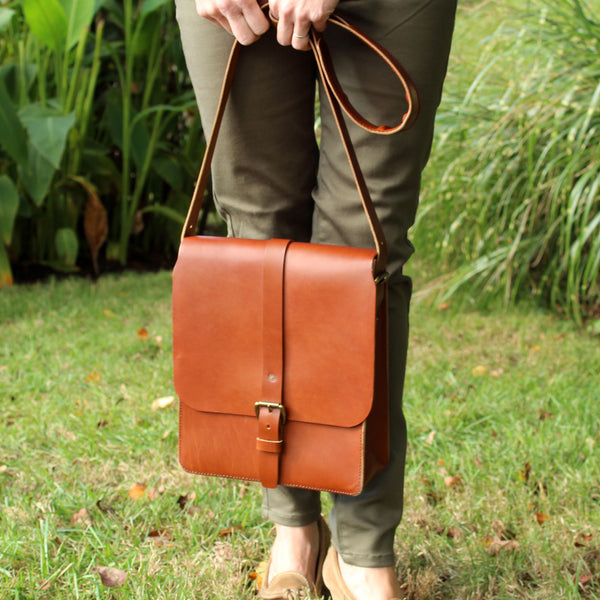 Steurer & Co. Clark Map Bag, Steurer, SteurerJacoby, Vintage Leather Golfbag, Satchel, Handmade Leather Bags, Leather Satchel, Louisville, Ky