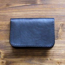 Load image into Gallery viewer, Steurer & Co. Clay Bifold Wallet, Leather Card Wallet, Hand Stitched Leather Wallet