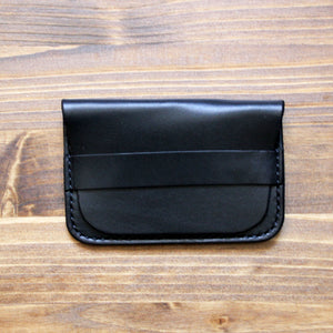 Steurer & Co. Clay Flap Wallet, Leather Card Wallet, Hand Stitched Leather Wallet