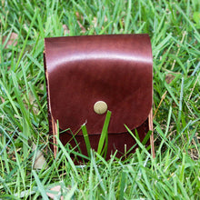 Load image into Gallery viewer, Steurer & Co. Leather Golf Range Finder Case. Made in USA
