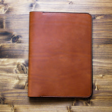 Load image into Gallery viewer, Steurer & Co. Edison Composition Journal Cover, Handmade Leather, Handmade Totes, Satchels & Accessories, Hickory Golf