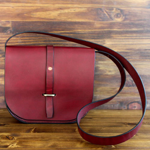 Steurer & Co. Fayette Saddle Bag, Hand Made Bridle Leather Bags, Totes, Satchels and Accessories,  finest quality leatherwear in Kentucky, Louisville