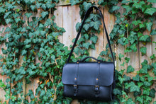 Load image into Gallery viewer, Lincoln Satchel - Coal