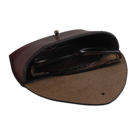 Steurer & Co. Handmade Leather Eye Glass and Sun Glass Case