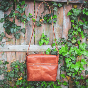 Steurer & Co. Leather, Hobo Bag, Cross Body, Veggie Tanned Leather, Louisville, Kentucky, Made in the USA