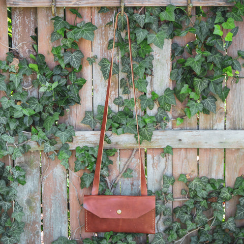 Julep Cross Body Bag, Mint Julep, Handmade in Kentucky, Made in the USA