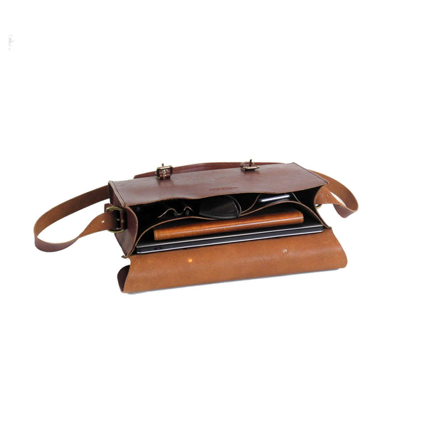 Lincoln Satchel - Bourbon