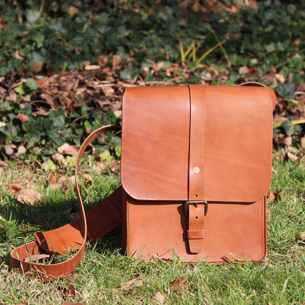 Steurer & Co. Clark Map Bag, Steurer, SteurerJacoby Vintage Leather Golfbag Designer, Satchel, Veggie Tanned Leather, Leather Satchel, Steurer & Co.