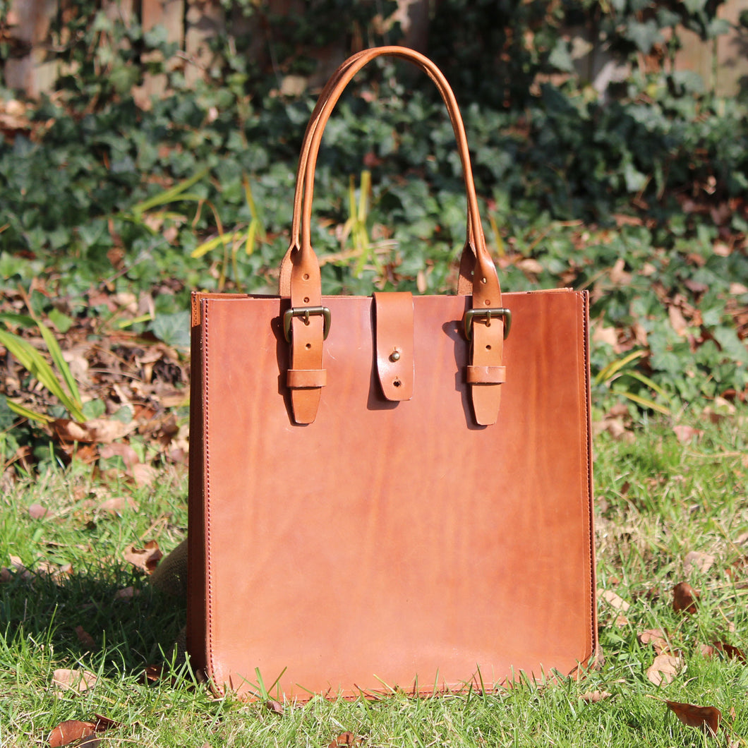 Steurer & Co. Madison Deluxe Tote, Veggie Tanned Leather, Totes, Handmade Leather Bags and Accessories, SteurerJacoby Golf Club Carrier Designer