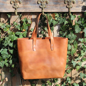Steurer & Co. Mason Everyday Tote, Veggie Tanned Leather, Steurer, SteurerJacoby Leather Golfbag Designer, Totes, Handmade Leather Tote, Leather Tote