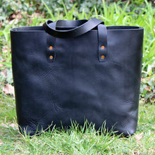 Load image into Gallery viewer, Steurer & Co. Mason Everyday Tote, Steurer, SteurerJacoby, Vintage Leather Golfbag, Totes, Handmade Leather Tote, Leather Tote