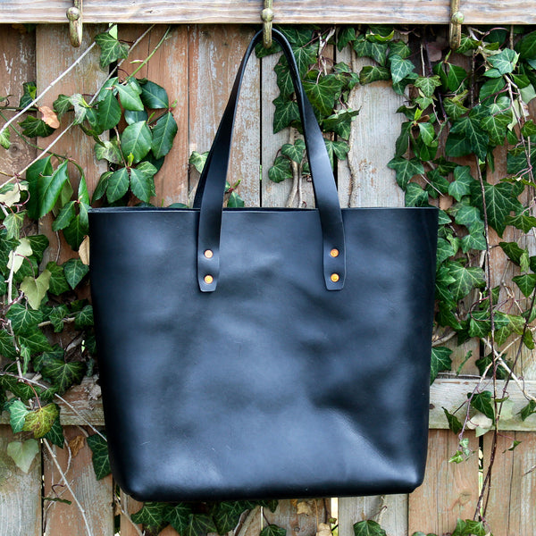 Steurer & Co. Mason Everyday Tote, Steurer, SteurerJacoby, Vintage Leather Golfbag, Totes, Handmade Leather Tote, Leather Tote