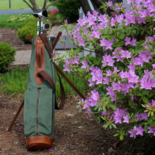 Load image into Gallery viewer, Sunday Golf Bag, Steurer Golf Bag, Steurer & Co., Hand made in Kentucky, Leather Goods, Hickory, Minimalist Golf, Made in the USA