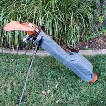 Load image into Gallery viewer, Sunday Golf Bag, Steurer Golf Bag, Steurer & Co., Hand made in Kentucky, Leather Goods, Hickory, Minimalist Golf, Minimalist Bag, Pencil Golf Bag, Leather Goods, Made in the USA