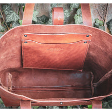 Load image into Gallery viewer, Steurer & Co. Leather Totes, Satchels, Luggage and Accessories. Handmade, Louisville, Kentucky