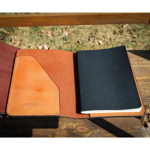 Steurer & Co., Leather Journal Cover, Handmade Leather Louisville, KY