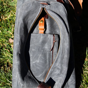 MB Structured Waxed Duck Sunday Golf Bag