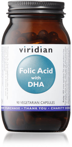 Folic Acid with DHA (90 Veg Caps)