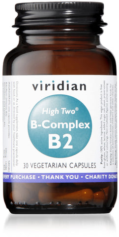 HIGH TWO™ Vitamin B2 with B-Complex (30 Veg Caps)